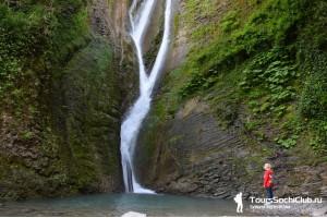 Индивидуальный тур 3 богатыря. Лучшие водопады города Сочи. 15.05.17