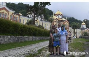Абхазия. Экскурсионный тур Новый Афон. Озеро Рица. 7.06.17