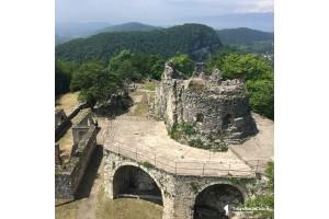 Абхазия. Новый Афон Анакопийская крепость, Генуэзская башня. 30.04.18.