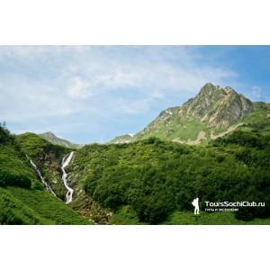 Водопады Красной Поляны. Ачипсинские водопады