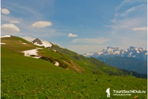 Красная Поляна. Гора Табунная