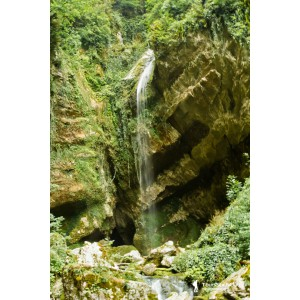Водопады Красной Поляны. Водопад Пасть Дракона