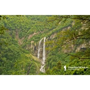 Водопады Красной Поляны. Водопад Поликаря
