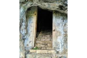 Абхазия. Грот-келья апостола Симона Кананита
