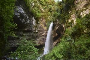 3 богатыря. Лучшие водопады города Сочи.
